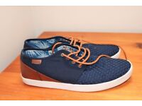 Lloyd and Pryce Navy Wilson Mens Shoe (size 9)