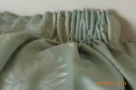 Mint Green Pencil Pleat Curtains
