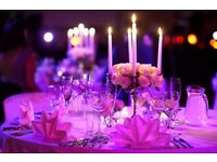 Wedding Days, Mehndi Nights, Centrepieces, Chair Covers, Flower Arrangements - We cover all areas!!