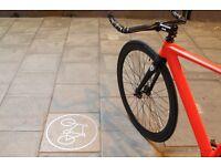 SUPER NICE Aluminium Alloy Frame Single speed road TRACK bike fixed gear racing fixie bicycle B7J