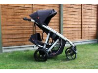 phil and teds verve double pushchair