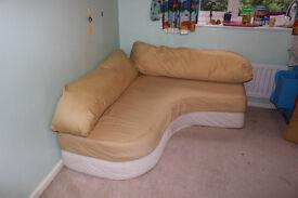 Sofa, bed and corn sofa ( convertible)