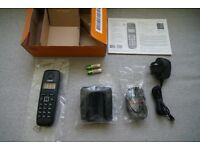 Gigaset A120 DECT Cordless Phone with ECO Mode Plus (low energy consumption)