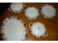 Royal Staffordshire dinner ware