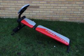 York adjustable sit up / weight bench