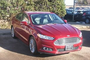 2013 Ford Fusion SE, LEATHER, S/ROOF, NAV