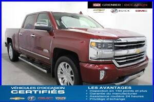 2016 Chevrolet SILVERADO 1500 4WD CREW CAB HIGH COUNTRY  NAV TOI