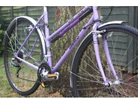 LOVELY, RELIABLE, COMFORTABLE Modern Classic Style Womens Dawes Hybrid Town Bike with Reynolds