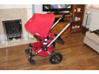 Bugaboo Frog 3 in 1 Travel System with cosy toes and rain cover