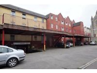 secure parking, close to city centre and BRI, gated entry with fob
