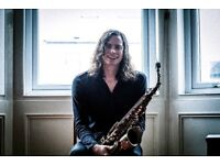 Saxophone Tuition with John Waugh