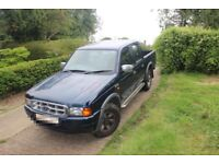 Ford Ranger; similar Mazda B2500, Not Nissan Navara, Mitsubishi L200, Toyota Hilux or Isuzu Rodeo