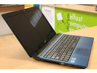 Acer Laptop I3 Quad core 4GB RAM 120GB HDD