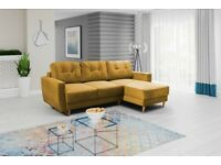"Brand New Corner Sofa Bed "" Retro "" with Free Delivery"