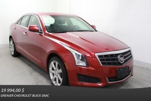 2014 Cadillac ATS SEDAN AWD Turbo AWD TOIT CUIR ECRAN TACTILE