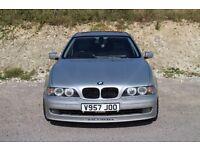 BMW 528i E39 5 series ALPINA LOW MILEAGE ALLOYS LEATHER ANGEL EYES