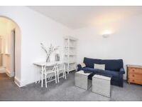 A bright and modern one bedroom flat to rent within this attractive block in Southfields.