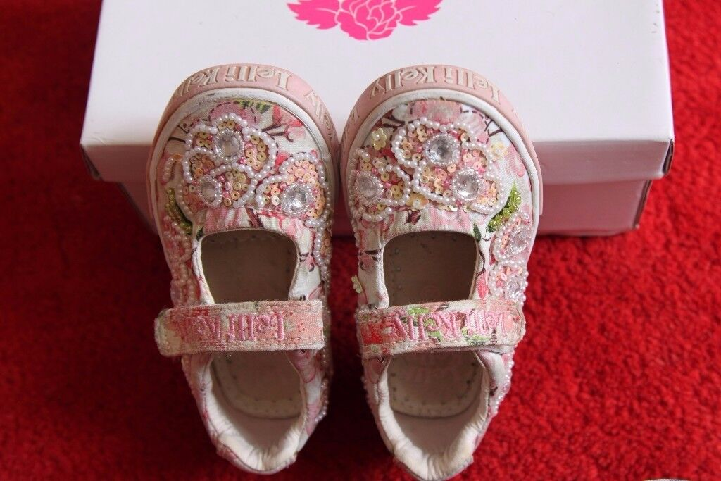 Lovely Girls Lelli Kelly Shoes UK Size 5 EU 22 in Great Clean Condition