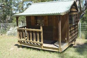 Kids outdoor cubby house - snowy river design Rouse Hill The Hills District Preview