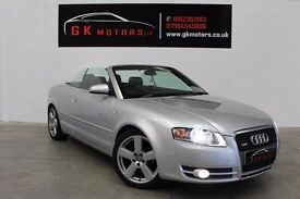 AUDI A4 S-LINE 2000 TDI CONVERTIBLE ** 100% HPI CLEAR ** FULL SERVICE HISTORY **NATIONWIDE WARRANTY