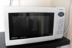 panasonic microwave combi slimline very powerful