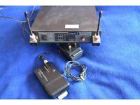 Tie-clip/lapel Radio Mic System Audio Technica ATW-R14