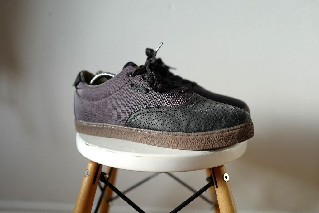DZR Dice Mechanic SPD EUR 43 UK 9 Shoes Trainers Cycling fixie Leather black Clip Clipped casual £40