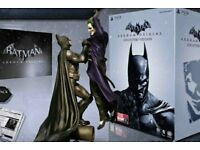 New in Box Unopen. Batman & Joker figure with Xbox 360 game Special edition. Collectors only