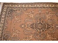 Large handmade persian rug 300cm by 200cm £45