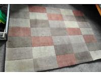 Patterned Rug - Multi-coloured