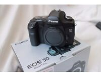Canon EOS 5D Body only or with Lens