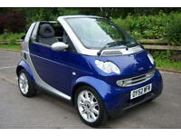 SMART FORTWO PASSION 2002 AUTOMATIC CONVERTIBLE 44.000 MILES WARRANTED 8 MONTHS MOT