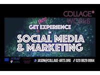 Get Free Experience in Social Media and Marketing