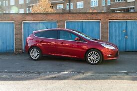 Ford Focus TitaniumX 1.6T Ecoboost 62 plate (2012) -33,000 miles, lots of extras, great condition