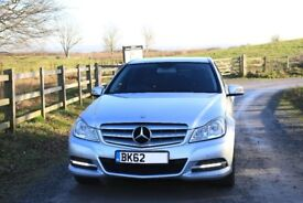 Mercedes-Benz C200 CDI 62 PLATE