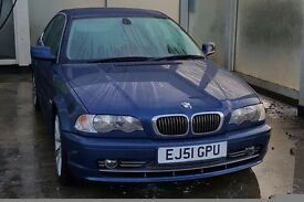 BMW E46 330CI AUTO FOR SALE OR SWAP