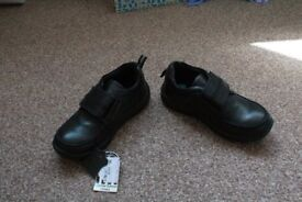 Genuine leather school shoes size 10