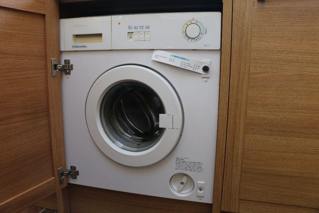 electrolux aqualux 1200. integrated washing machine - electrolux aqualux 1000 1200 o