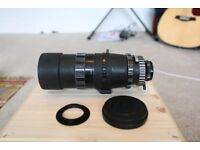 Enna 200mm F4 M42 Canon EF mount camera Lens