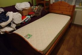 John Lewis Trundle Single Guest Bed with Mattresses