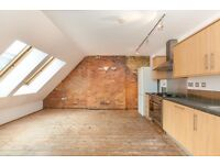 N1 OLD STREET LARGE 2 BEDROOM WAREHOUSE CONVERSION AVAILABLE NOW AT £450 P/W 10 MINS WALK TO STATION