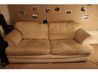 Giving away a 3 seater sofa for FREE! Pickup asap!