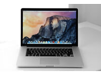 "Apple MacBook Pro Retina 15.4"" i7 (Early 2013) Just needs new battery"