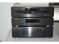 MARANTZ PM-66SE AMP/CC4001 5CD CHANGER/ST6000 TUNER CAN SEEWORKING