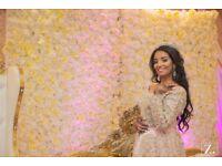 Female Asian Wedding Photography Videography London; Photographer Videographer.