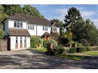 Beautiful 4-5 bedroom house for sale on Coombe Hill (KT3 4SP). Move in or extend. Rare opportunity.