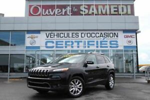 2016 Jeep CHEROKEE 4X4 LIMITED TOIT PANORAMIQUE/CUIR/NAVIGATION