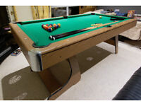 Debut 6ft Folding Pool Table