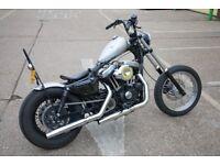 Harley Davidson Sportster - Custom 1200cc Bobber