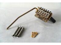 Super-Vee Bladerunner gold strat/stratocaster tremelo